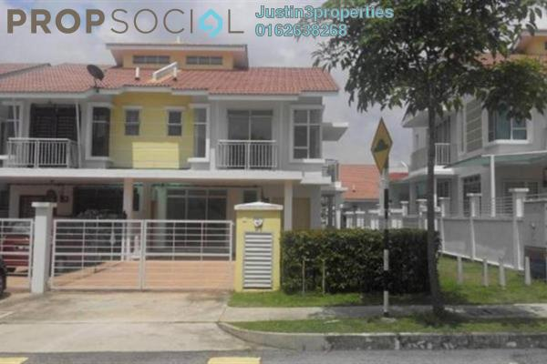 For Sale Terrace at New Green Park, Rawang Freehold Unfurnished 4R/3B 508k
