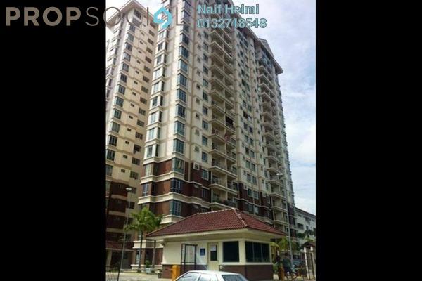 For Sale Condominium at Unipark Condominium, Kajang Freehold Fully Furnished 4R/2B 450k