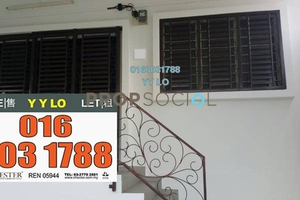 For Sale Link at Taman Bunga Raya, Setapak Freehold Fully Furnished 6R/2B 550k
