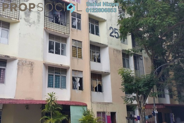 For Sale Apartment at Rista Villa Apartment, Puchong Leasehold Unfurnished 3R/1B 105k