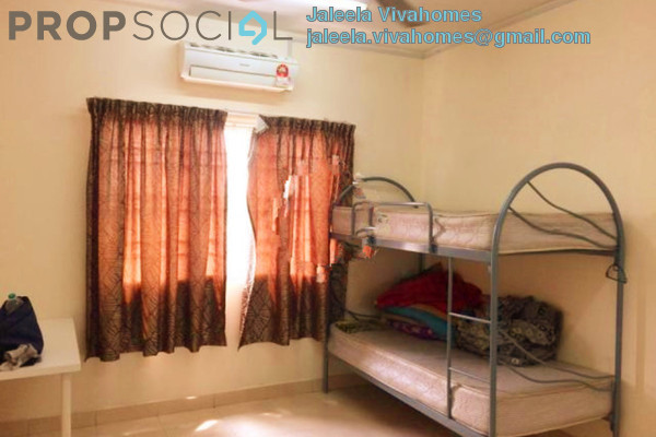 For Rent Apartment at Kristal Heights, Shah Alam Leasehold Semi Furnished 3R/2B 1.5k