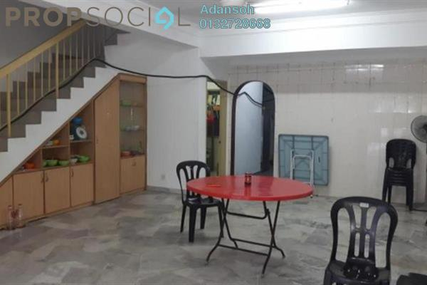 For Sale Terrace at Taman Mastiara, Jalan Ipoh Leasehold Semi Furnished 4R/3B 835k