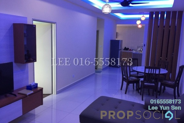 For Rent Condominium at D'Festivo Residences, Ipoh Freehold Fully Furnished 3R/2B 2.6k