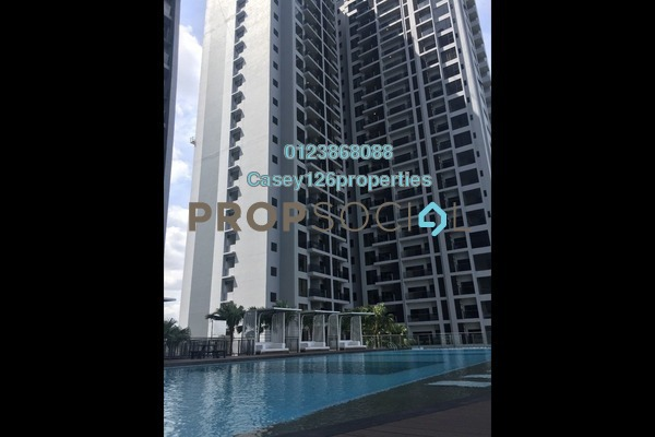 For Sale Serviced Residence at D'Latour, Bandar Sunway Leasehold Semi Furnished 2R/2B 730k