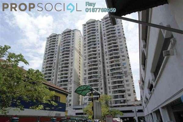 For Rent Condominium at Pandan Villa, Pandan Indah Leasehold Semi Furnished 3R/2B 1.5k