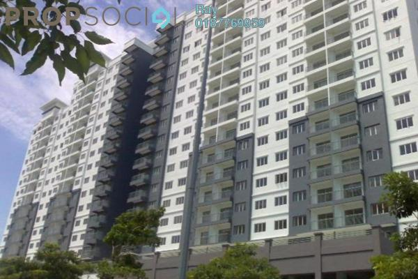 For Rent Condominium at Casa Idaman, Jalan Ipoh Leasehold Fully Furnished 3R/2B 1.6k