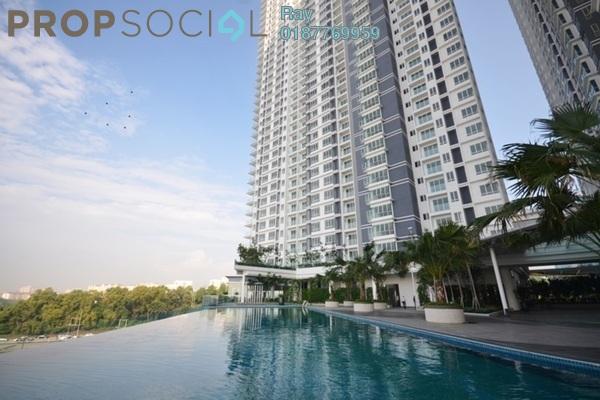 For Rent Condominium at Desa Green Serviced Apartment, Taman Desa Freehold Semi Furnished 2R/2B 1.7k