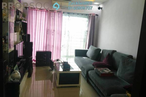 For Sale Condominium at Connaught Avenue, Cheras Leasehold Semi Furnished 3R/2B 480k