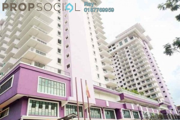 For Rent Condominium at Indah Alam, Shah Alam Freehold Fully Furnished 4R/2B 2.2k