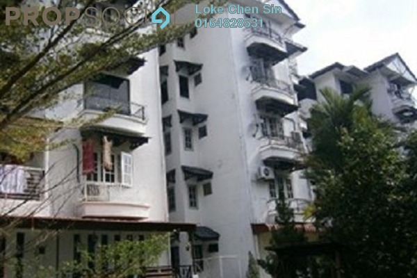 For Sale Apartment at Villa Condominium, Relau Freehold Fully Furnished 3R/2B 388k