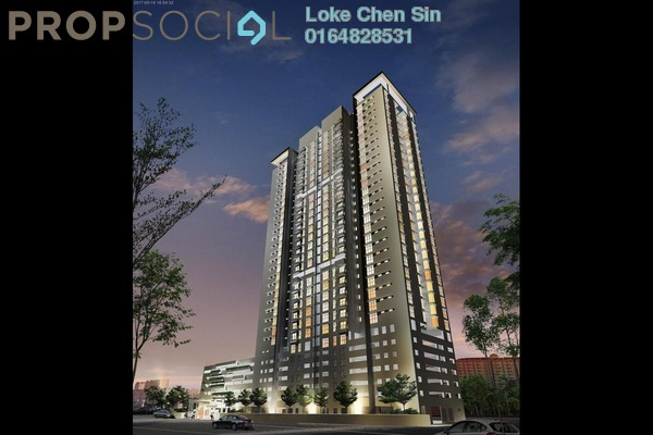 For Sale Condominium at Straits Garden, Jelutong Freehold Unfurnished 1R/1B 410k