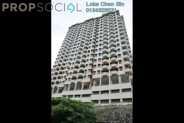 For Rent Apartment at Eden Seaview, Batu Ferringhi Freehold Fully Furnished 3R/2B 1.4k