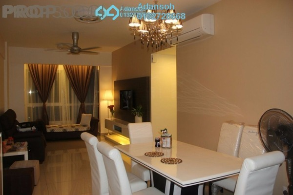 For Sale Condominium at First Residence, Kepong Leasehold Semi Furnished 3R/2B 598k