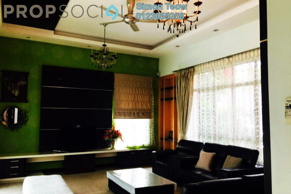 For Sale Bungalow at Setia Eco Park, Setia Alam Freehold Semi Furnished 6R/6B 2.99m