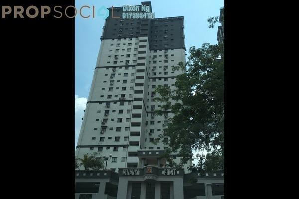 For Rent Condominium at Kenanga Point, Pudu Freehold Semi Furnished 3R/2B 1.8k