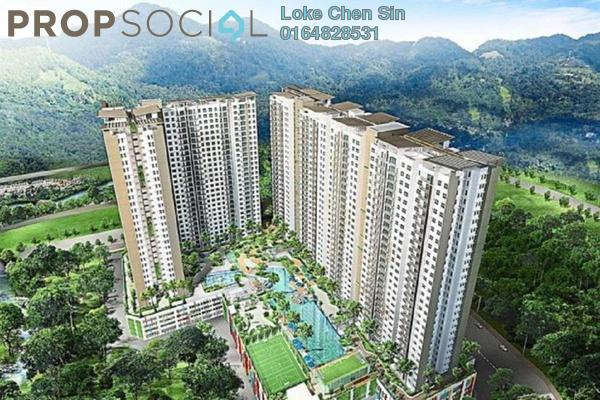 For Rent Condominium at Imperial Residences, Sungai Ara Freehold Unfurnished 3R/2B 1.7k