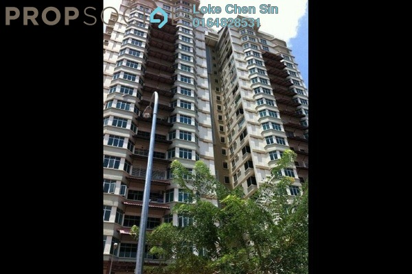 For Rent Condominium at Ixora Heights, Sungai Nibong Freehold Semi Furnished 3R/2B 1.4k