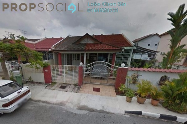 For Rent Terrace at Taman Sri Nibong, Sungai Nibong Freehold Semi Furnished 3R/2B 1.2k