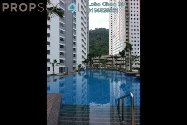 For Rent Condominium at The Peak Residences, Tanjung Tokong Freehold Fully Furnished 3R/2B 1.8k