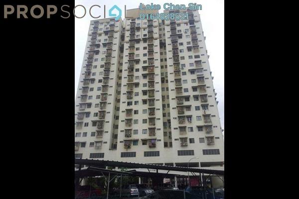For Rent Apartment at Desa Indah, Relau Freehold Semi Furnished 3R/2B 900translationmissing:en.pricing.unit