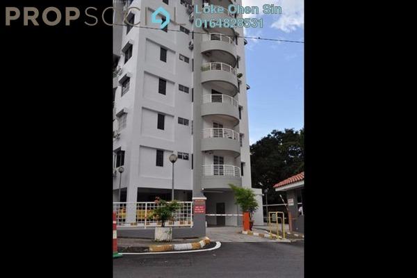 For Rent Apartment at Desa Bukit Jambul, Bukit Jambul Freehold Semi Furnished 3R/2B 1.4k