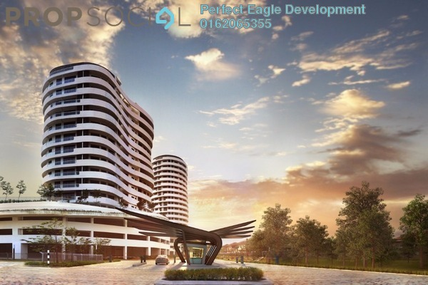 Puchong south house for sale o2 residence entrance view sp85 za ywe  pyxyhsy small