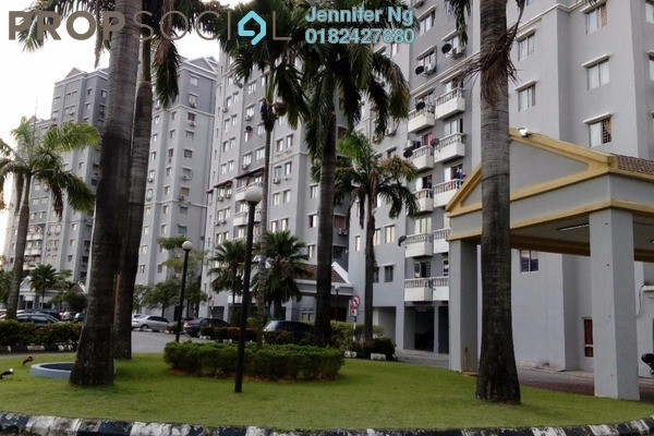 For Sale Apartment at Avenue Court, Old Klang Road Leasehold Semi Furnished 3R/2B 328k