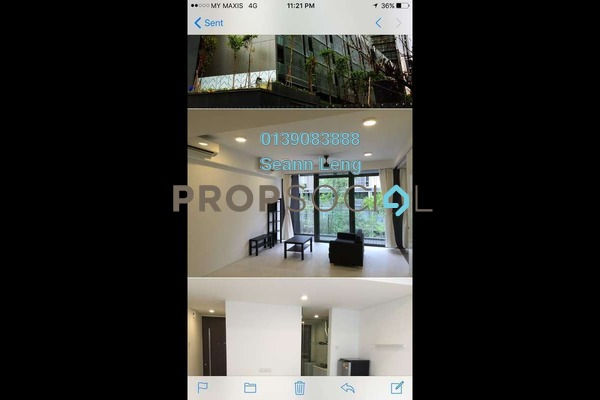 For Rent Condominium at The Capers, Sentul Freehold Fully Furnished 2R/2B 2.8k