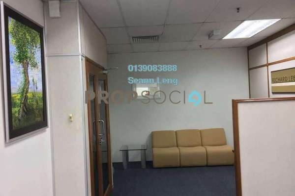 For Rent Office at Straits Trading Building, Pudu Leasehold Semi Furnished 3R/0B 5.5k