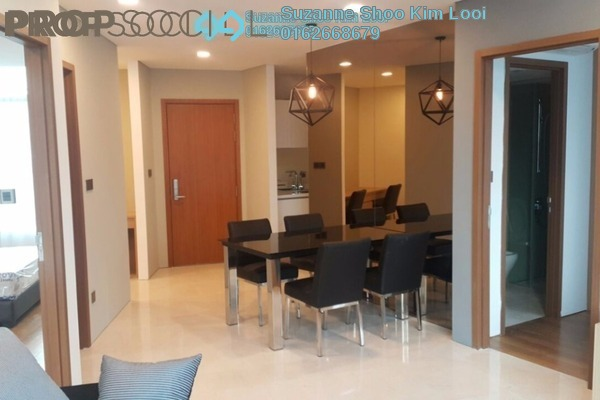 For Rent Condominium at Vortex Suites & Residences, KLCC Freehold Fully Furnished 2R/2B 3.2k