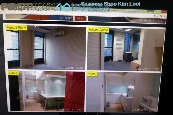 For Rent Office at Menara Keck Seng, Bukit Bintang Freehold Fully Furnished 0R/0B 16.3k