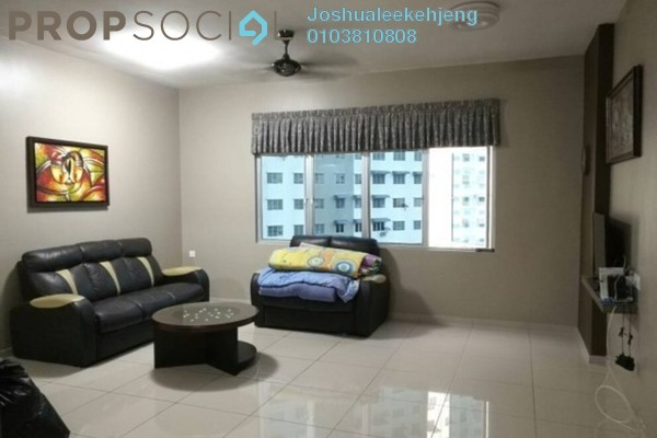 For Rent Condominium at Sierra Residences, Sungai Ara Freehold Fully Furnished 3R/2B 1.3k