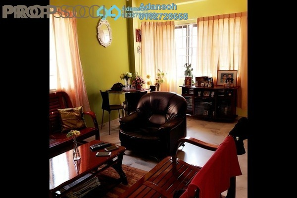 For Sale Apartment at Aman Puri, Kepong Freehold Semi Furnished 3R/2B 335k