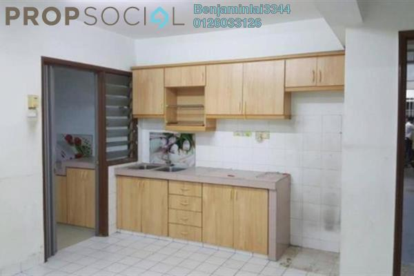 For Sale Apartment at Desa Dua, Kepong Freehold Semi Furnished 0R/3B 270k