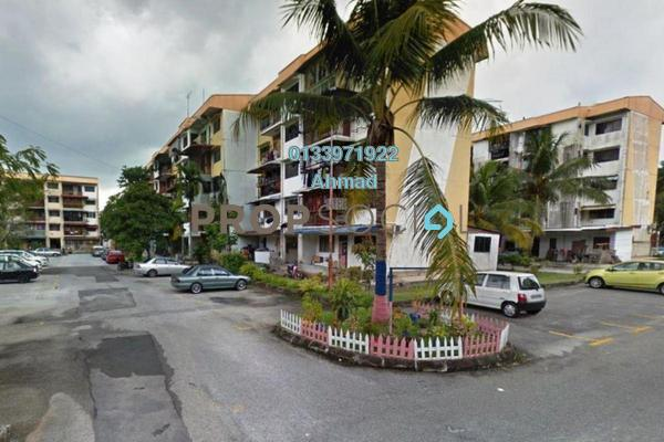 For Sale Apartment at Section 24, Shah Alam Leasehold Semi Furnished 2R/1B 165k