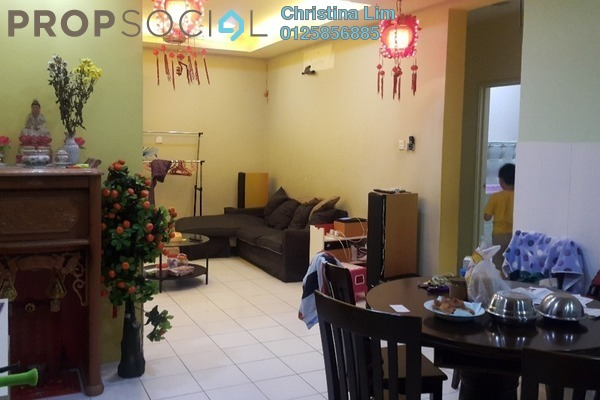 For Sale Condominium at Plaza Menjalara, Bandar Menjalara Leasehold Semi Furnished 3R/2B 558k
