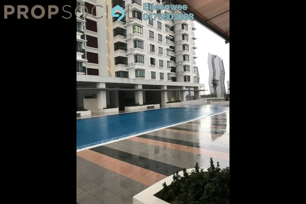 For Rent Condominium at Sentul Rafflesia, Sentul Freehold Semi Furnished 3R/2B 1.5k