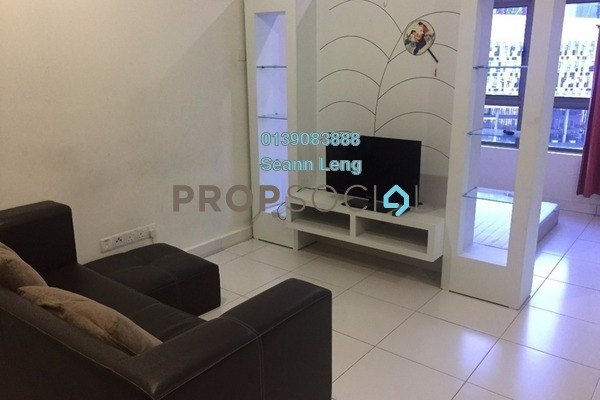 For Rent Duplex at Empire City, Damansara Perdana Leasehold Semi Furnished 0R/1B 1.35k