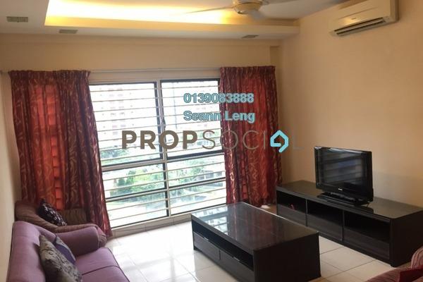 For Rent Condominium at Pelangi Damansara Sentral, Mutiara Damansara Leasehold Fully Furnished 2R/2B 1.95k