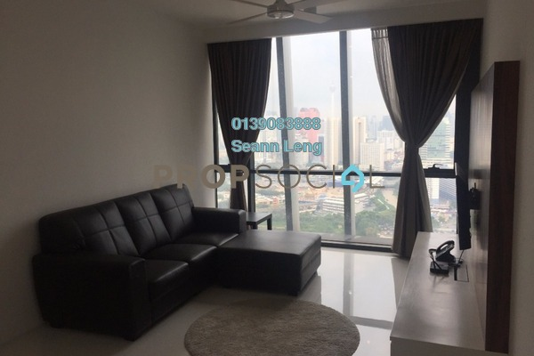 For Rent Condominium at The Capers, Sentul Freehold Fully Furnished 2R/2B 2.75k