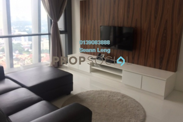 For Rent Condominium at The Capers, Sentul Freehold Fully Furnished 2R/2B 2.85k