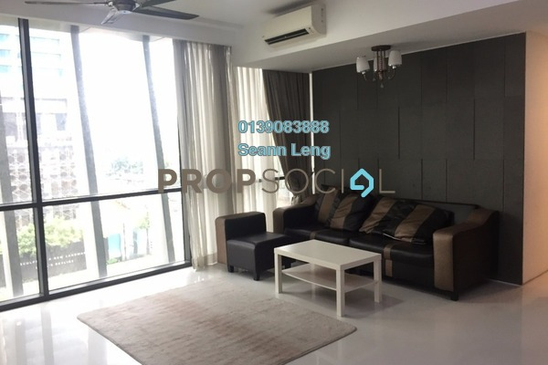 For Rent Condominium at The Capers, Sentul Freehold Fully Furnished 3R/3B 3.25k