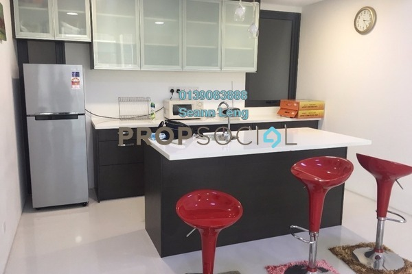 For Rent Condominium at The Capers, Sentul Freehold Fully Furnished 3R/2B 3.2k