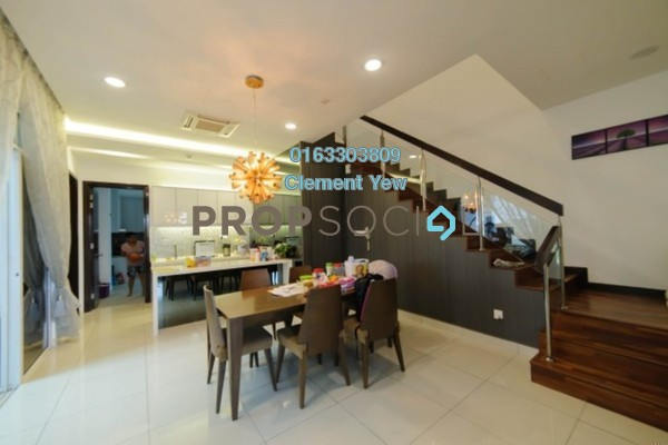 For Sale Semi-Detached at Setia Eco Park, Setia Alam Freehold Fully Furnished 5R/5B 2.4m