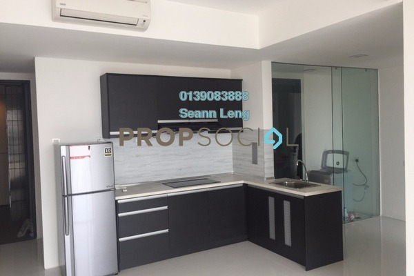For Rent Condominium at The Capers, Sentul Freehold Semi Furnished 2R/2B 2.15k
