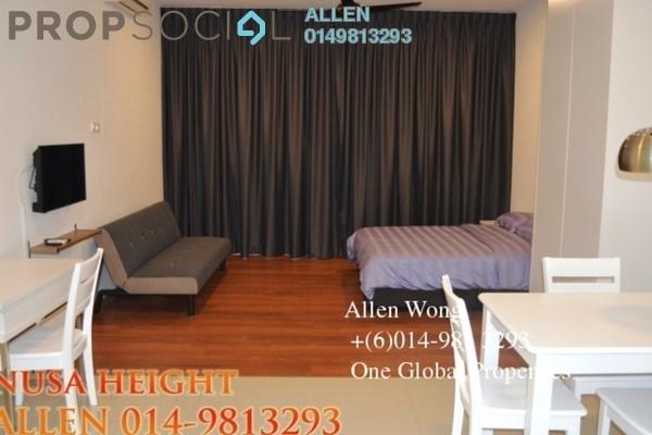For Sale Condominium at Nusa Heights, Iskandar Puteri (Nusajaya) Freehold Fully Furnished 0R/1B 285k