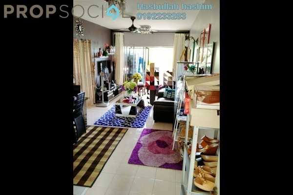 For Sale Condominium at Paradesa Rustica, Bandar Sri Damansara Freehold Semi Furnished 3R/2B 450k