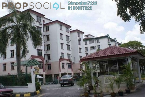 For Rent Apartment at Goodyear Court 10, UEP Subang Jaya Freehold Semi Furnished 3R/2B 1.45k