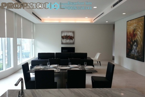 For Rent Condominium at Quadro Residences, KLCC Freehold Fully Furnished 4R/5B 10k
