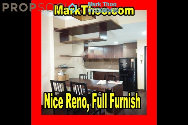 For Rent Condominium at Bukit Gembira, Kuchai Lama Freehold Fully Furnished 3R/2B 1.7k